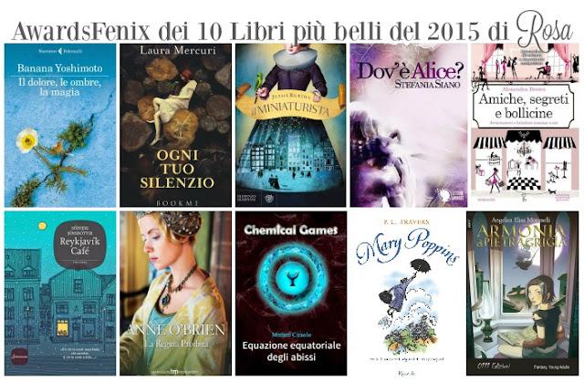 awardsfenix classifica dei libri pi belli letti nel 2015