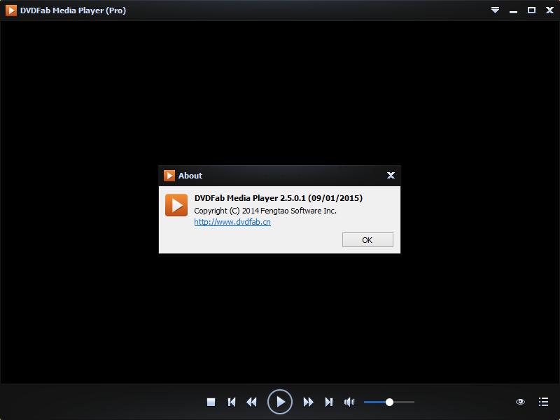 DVDFab Media Player (Pro) 2.5
