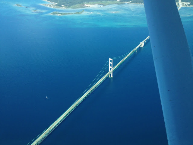 The Mackinac Bridge -- The Impatient Gardener