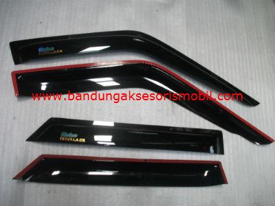 Talang Air Corolla DX Original Black Depan Belakang