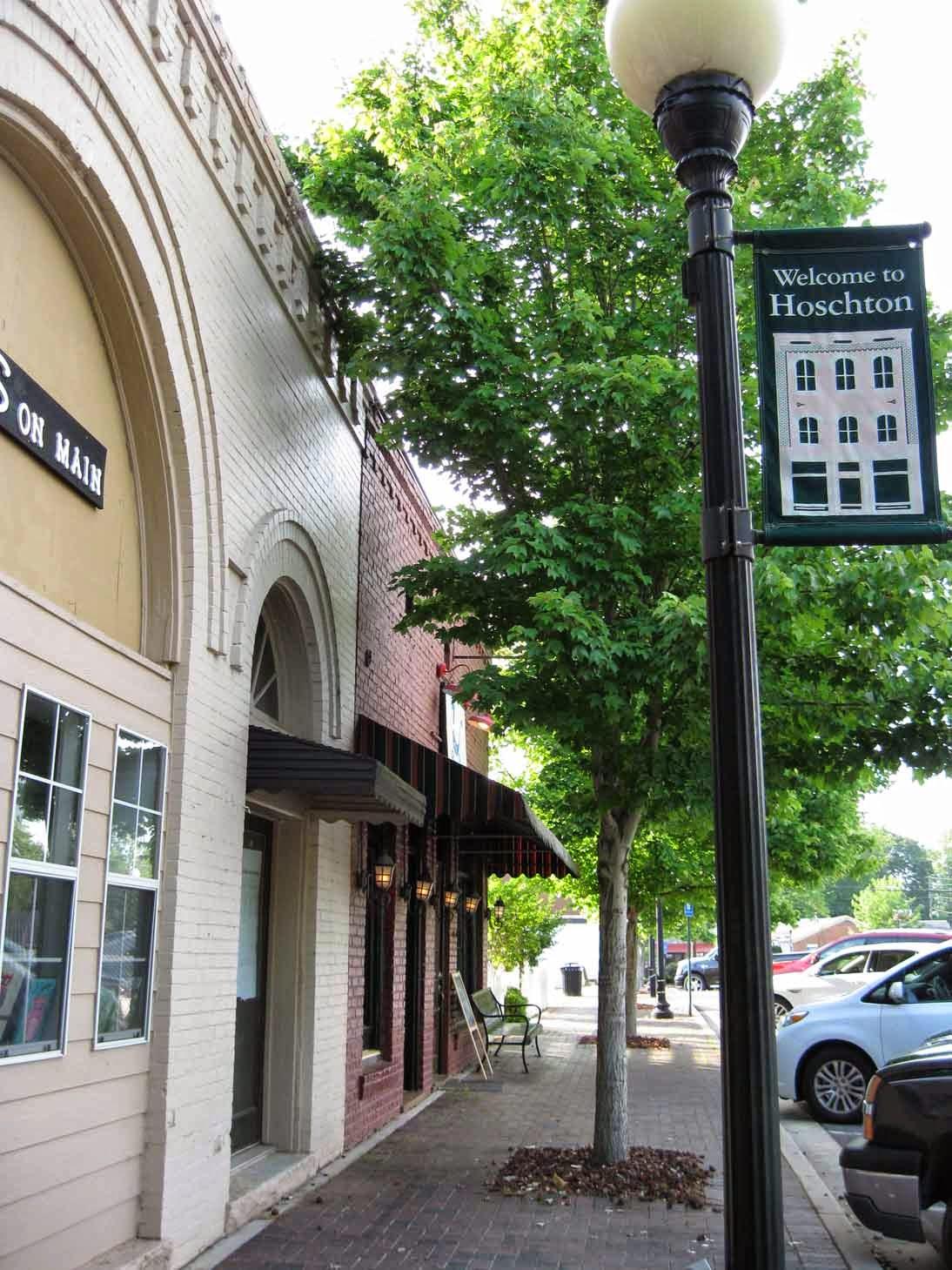 downtown Hoschton, GA