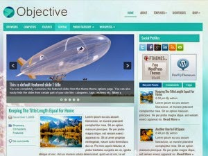Objective - Free Wordpress Theme