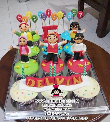 Cupcake Boboiboy Birthday