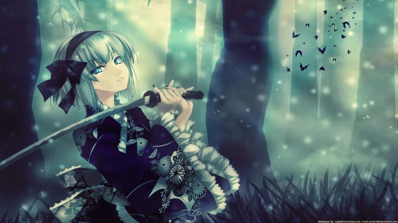 Anime Sweet Girl Full HD
