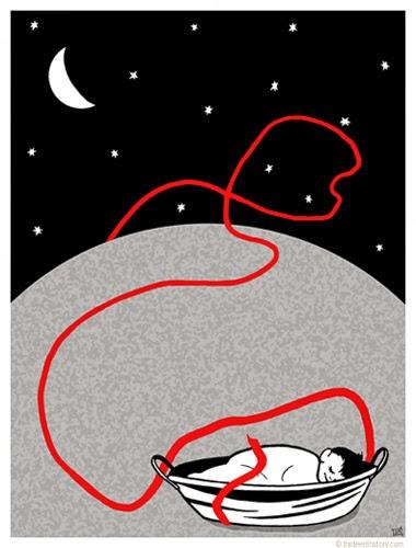 El hilo Rojo (Proverbio Chino)