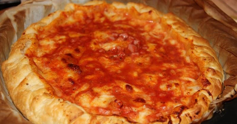 La cucina di alice torta salata cotto pomodoro e mozzarella - La cucina di alice ...