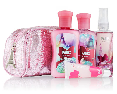 Bath & Body Works Body Products Paris Amour Set