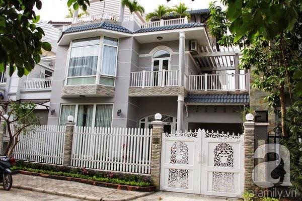 Biệt thự không gian đẹp nhiều người mơ tại Sài Gòn