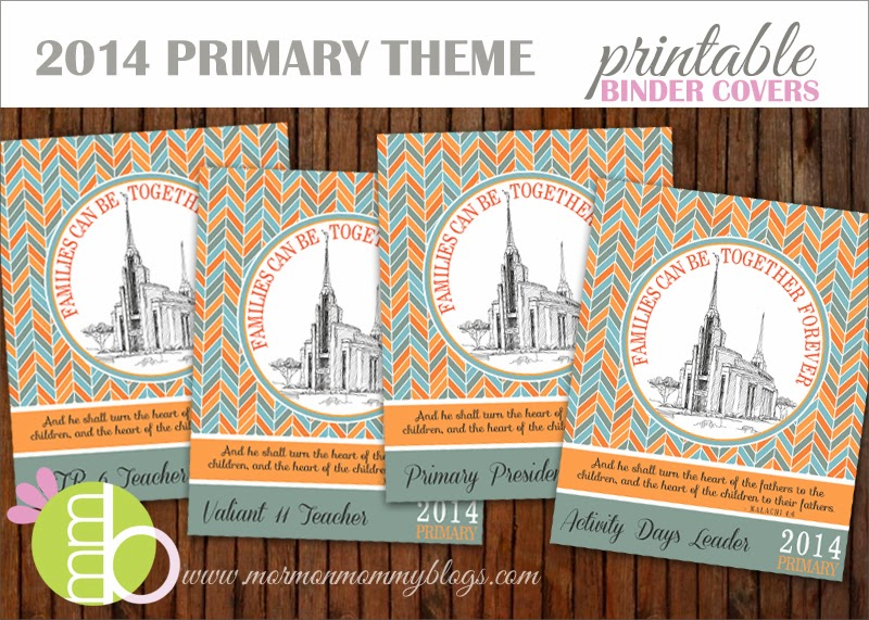 ... binder covers with the 2014 primary theme this set of 2014 primary