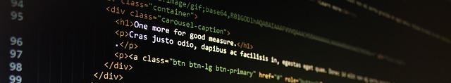 HTML Script Banner