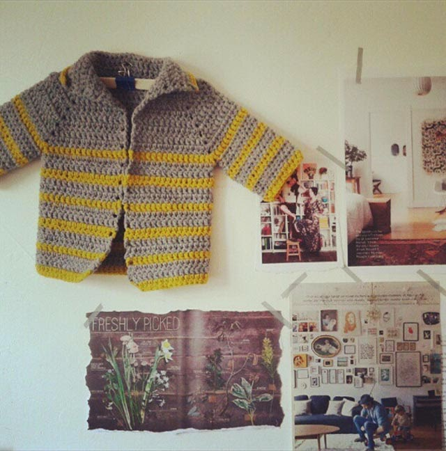 crochet jacket from handgehaakt blog