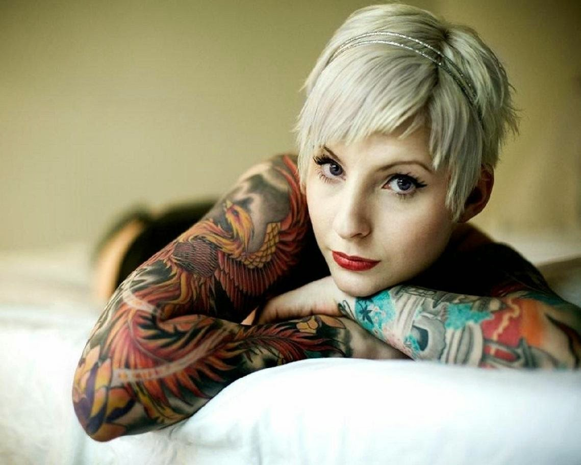 77 best Pretty tattooed inked girls images on Pinterest Tattoo girls Pictures of beautiful tattooed women