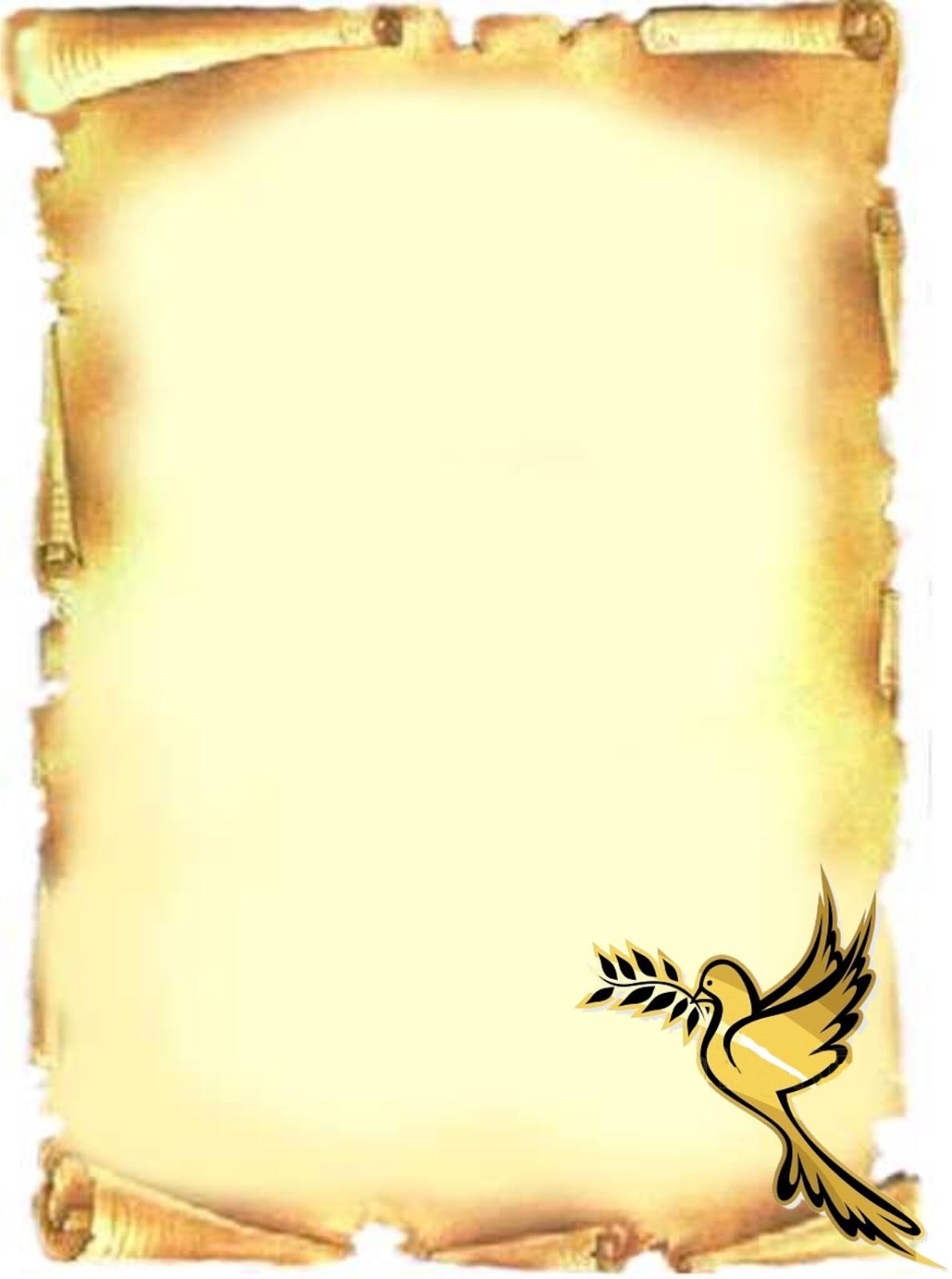 Caratulas en pergaminos - Imagui
