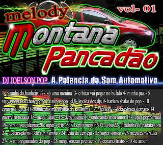 CD DA MONTANA PANCADÃO DE MELODY VOLUME 01