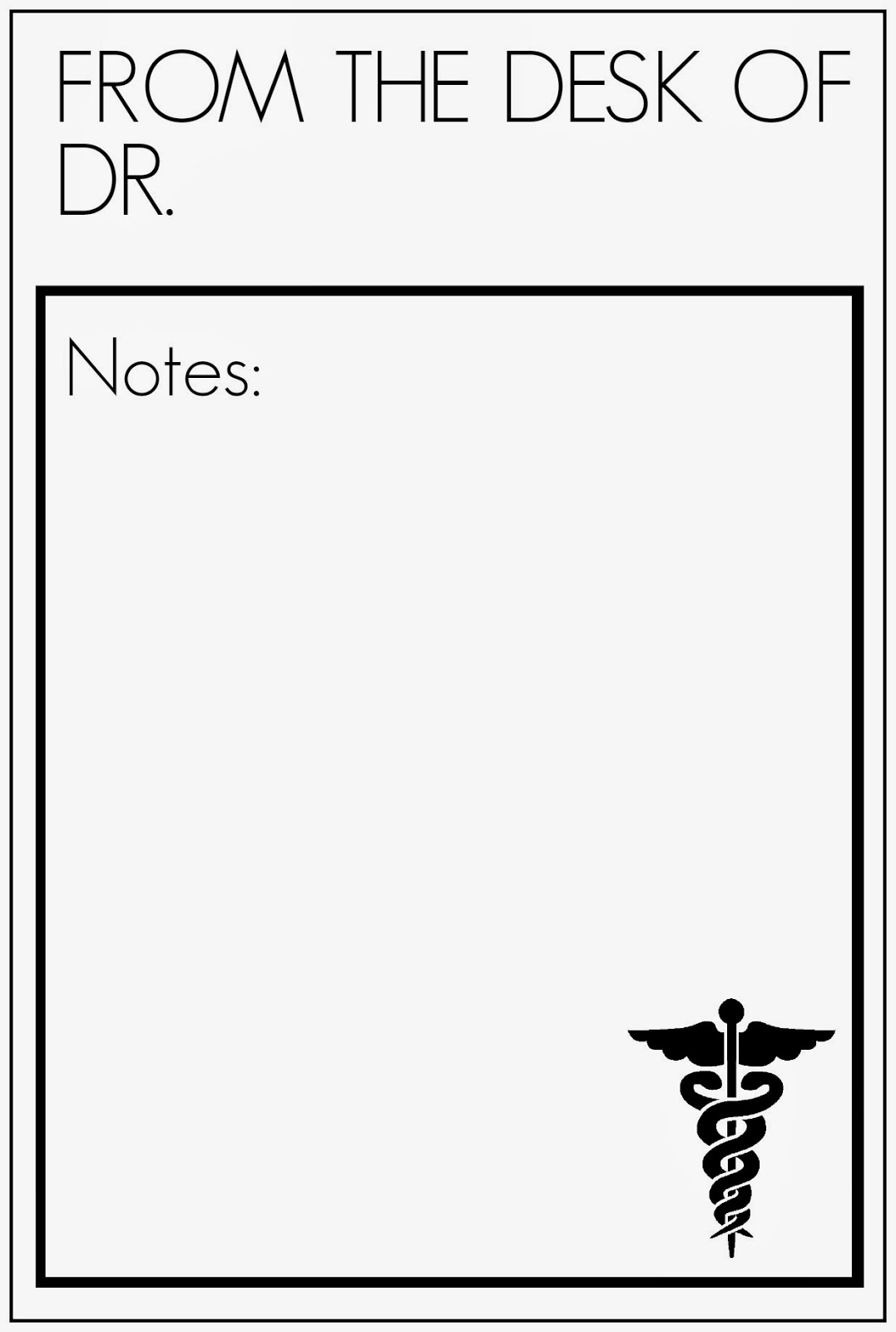 Notes For Free Fake Doctors Note Template Doctor Notes For Free