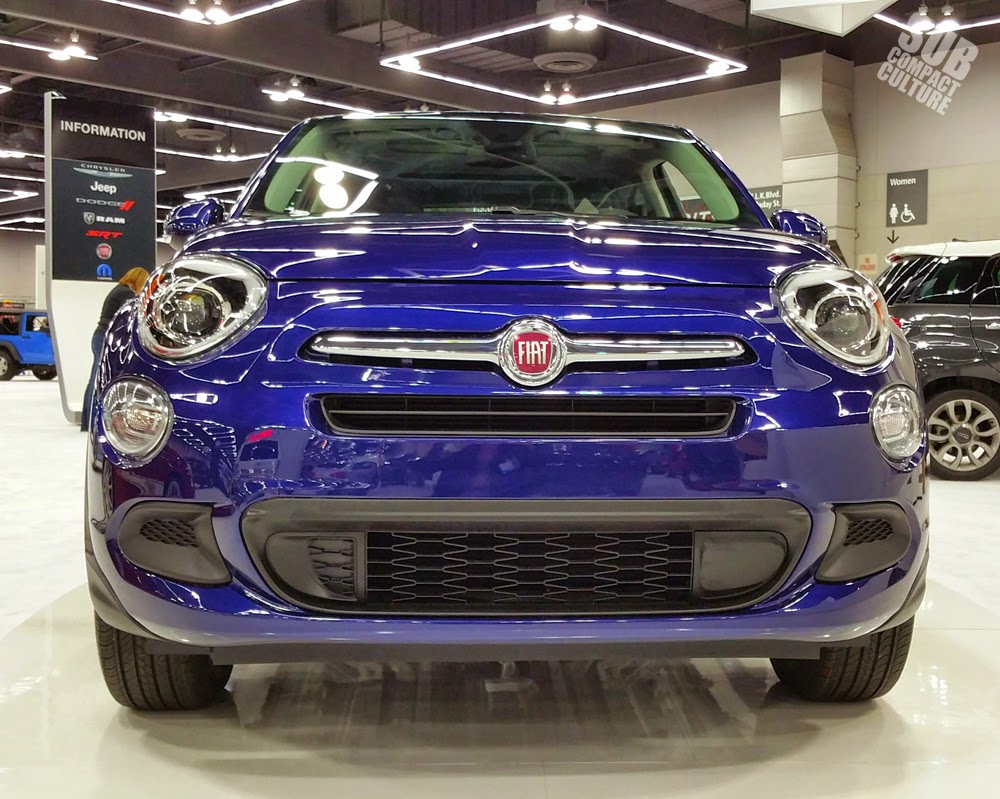 Fiat 500X front end