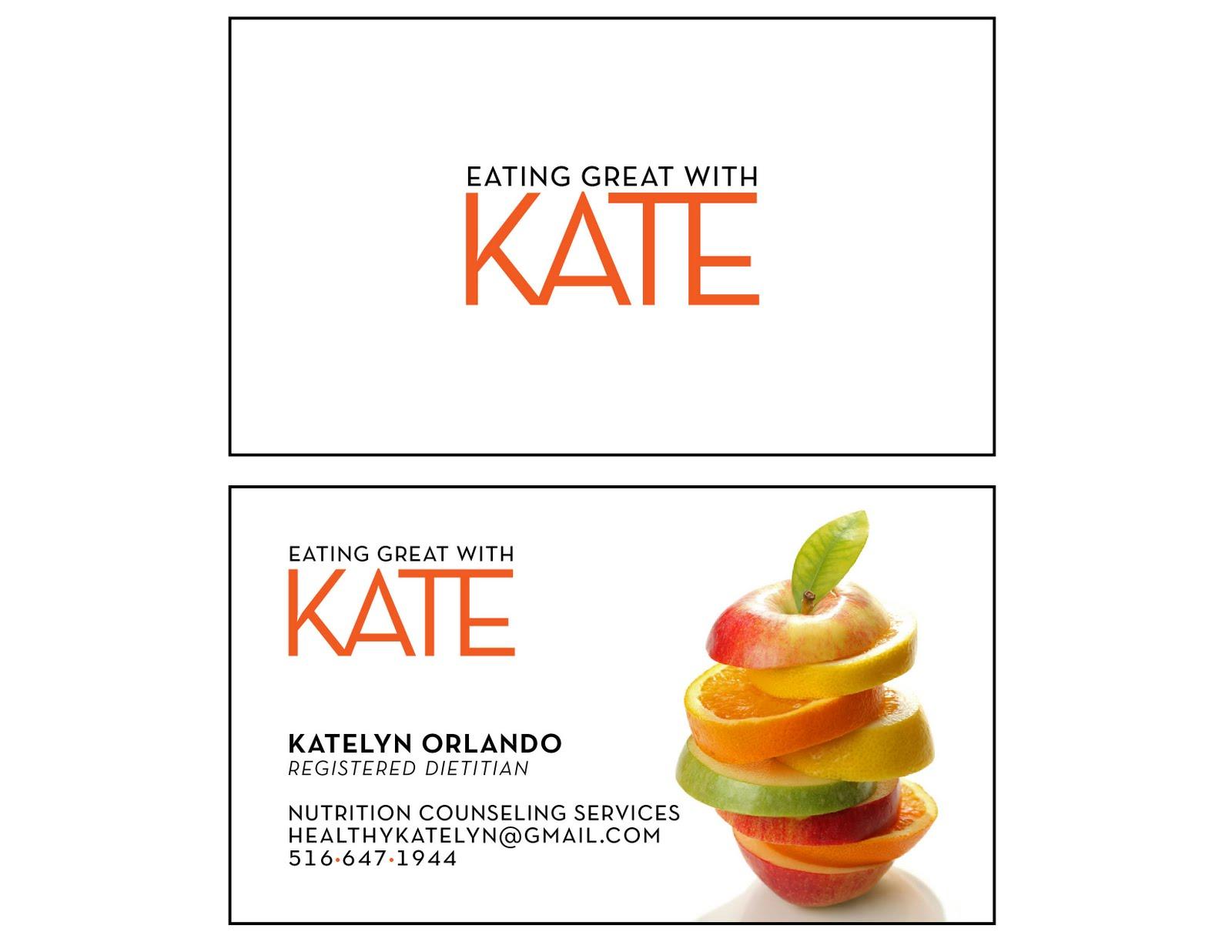 Christine Orlando BUSINESS CARD DESIGN