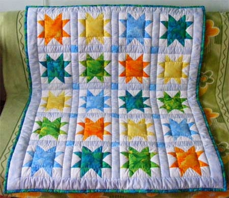 Easy Baby Quilt Pattern - Make Baby Stuff