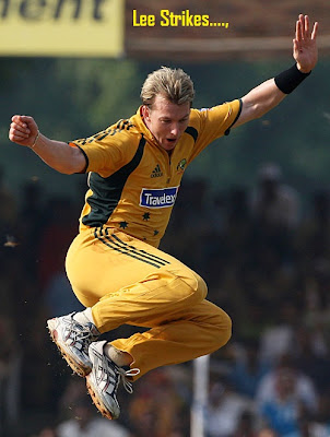 Brett Lee Retires quits International Cricket images pics profile Bowling family Biography