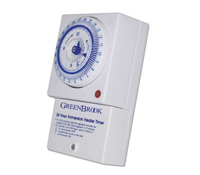 The energy saving STS24 Timer - Immersion Heater Timer - 24 Hr Mechanical Timeclock