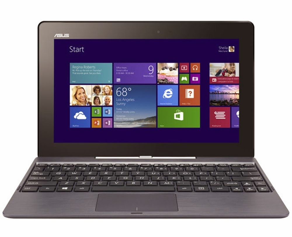 ASUS T100TA INTEL ATOM Z3775 1.46GHz CPU 2GB RAM'li -10.1''-Windows 8.1 Notebook