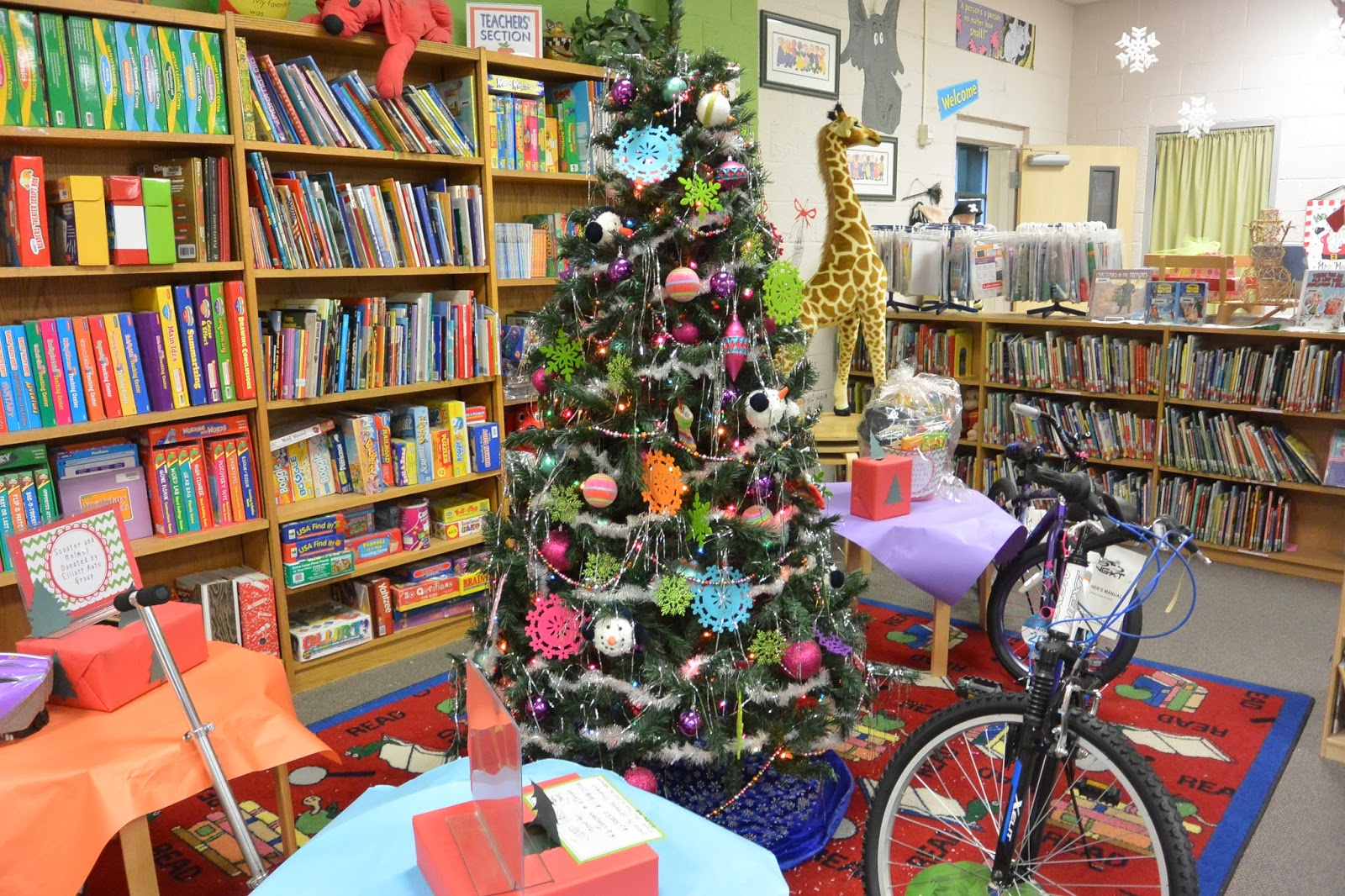 Christmas Ideas For School Libraries : An over the top school library a must see principal