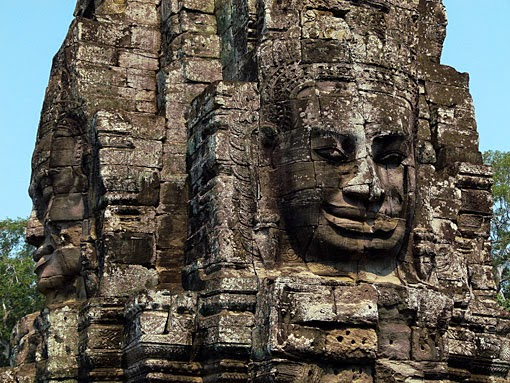 Angkor Face Tower