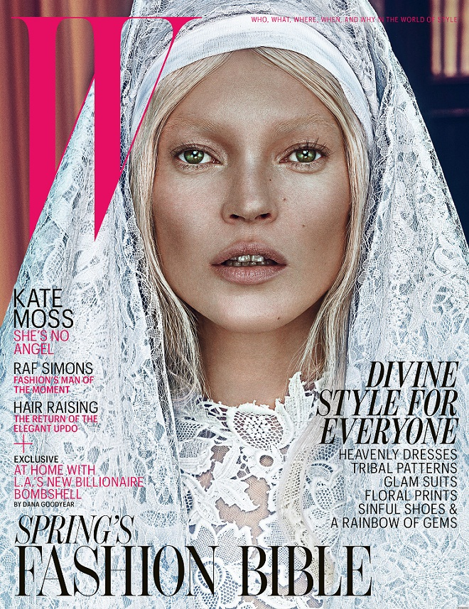 Kate Moss - Covers W Magazine March 2012