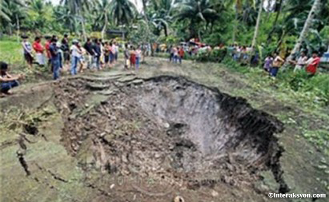 Residents Evacuated to Seventh Day Adventist Church due to Sinkhole in Cebu