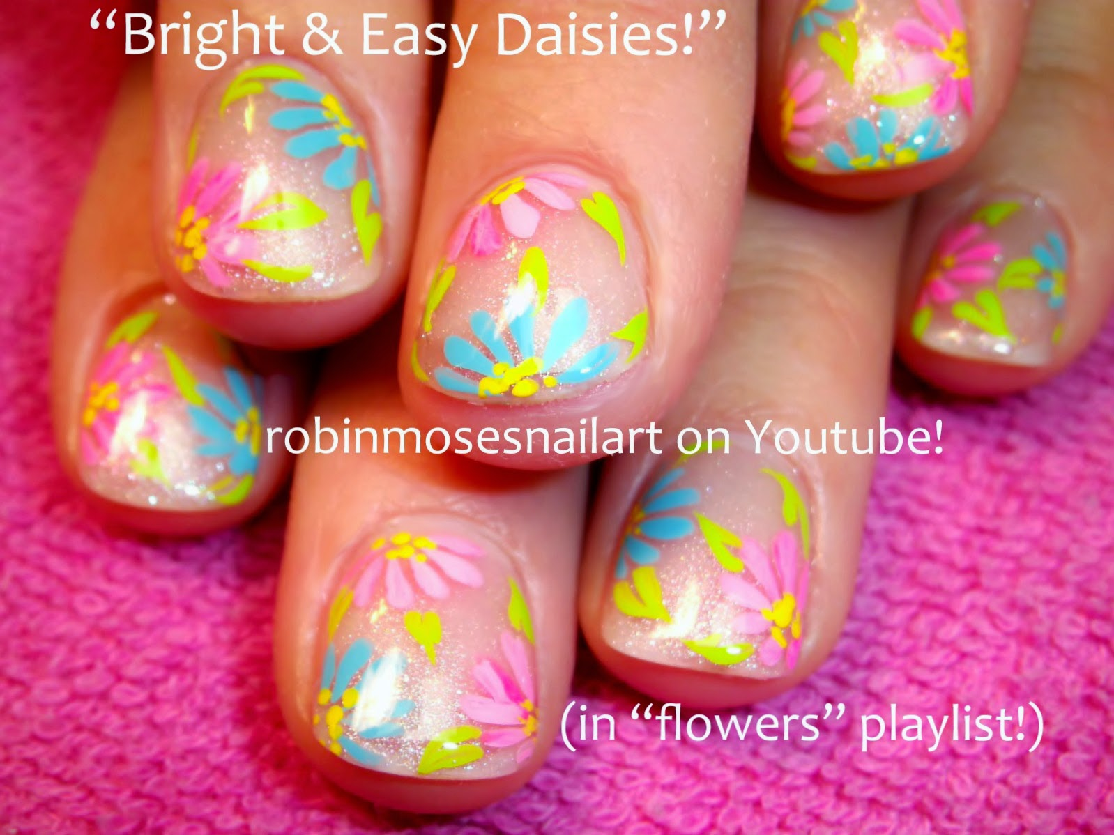 Bright Short Nail Designs