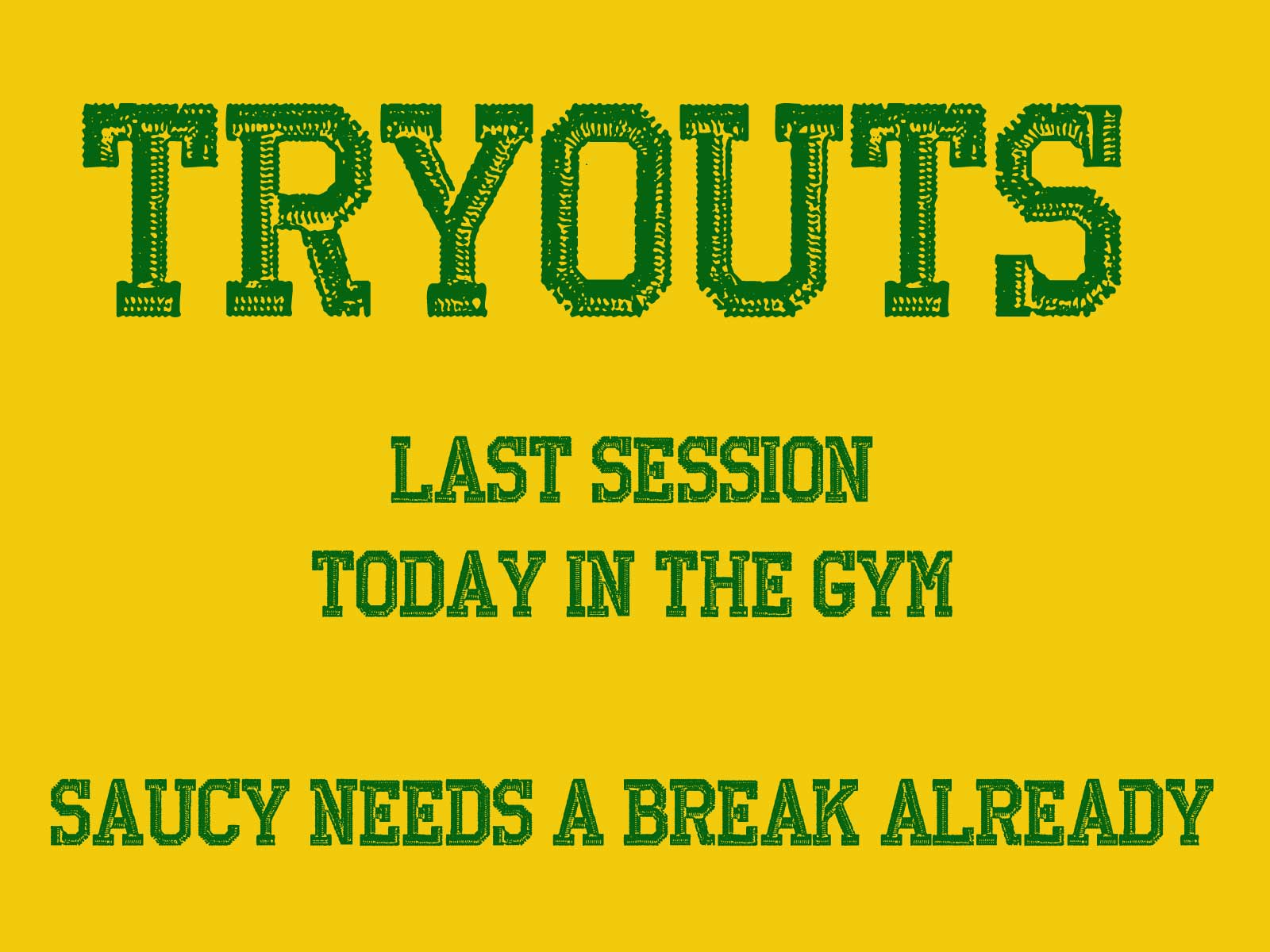 tryouts How to Ruin My Teenage Life. Close. 1/6