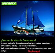 ayuda a greenpeace