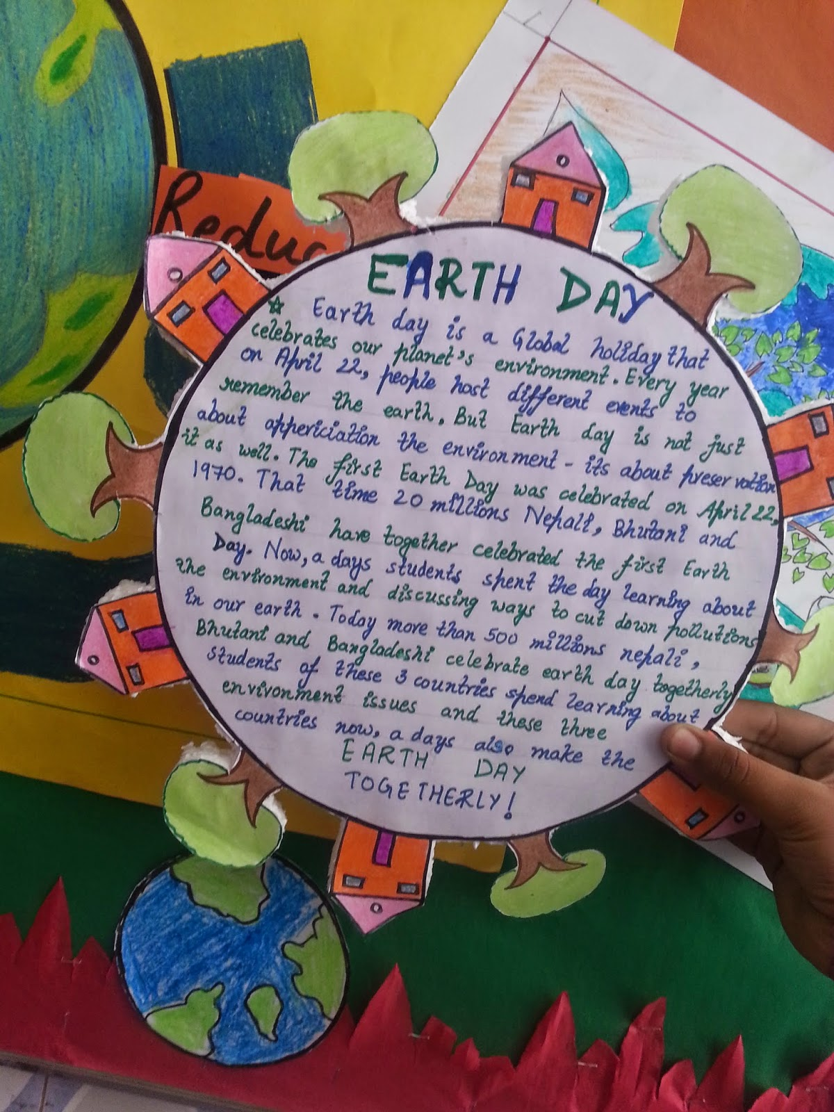 a skit on earth day