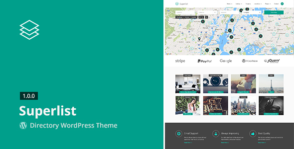 download Superlist - Directory WordPress Theme