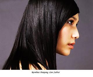 rambut subur dan cepat panjang