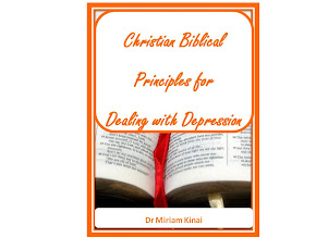 Christian Biblical Principles for Dealing with Depression Book