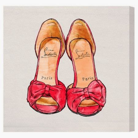 https://www.jossandmain.com/Deck-the-Walls-My-Sexy-Shoes-Canvas-Print,-Oliver-Gal~ALIV3565~E14600.html