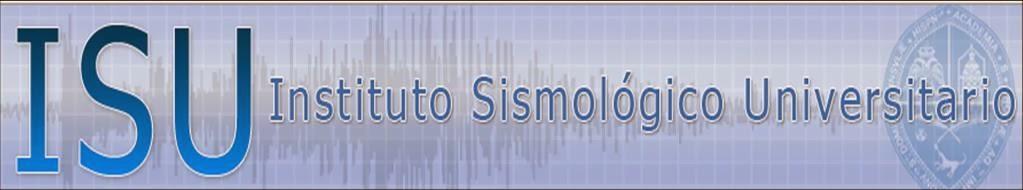 INSTITUTO SISMOLOGICO DE LA UASD