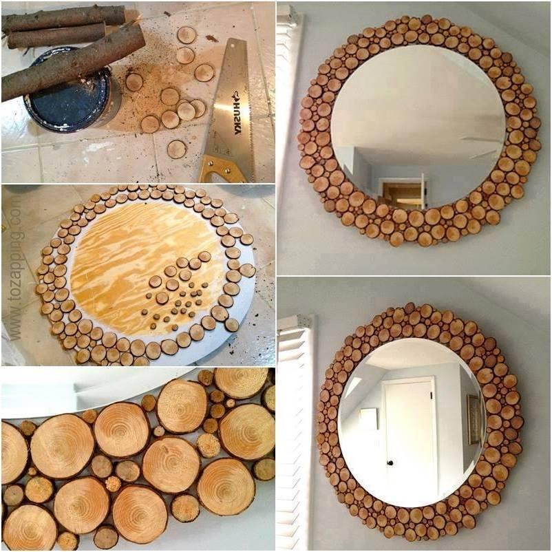 Reciclar reutilizar y reducir fant sticas ideas para - Espejos pequenos para decorar ...