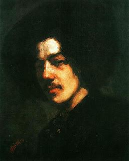 Джеймс Уистлер. Автопортрет в шляпе. 1857 — 1858.