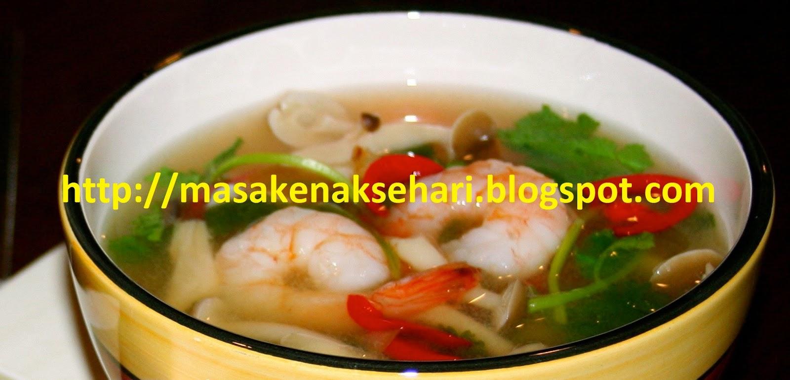 sup udang enak