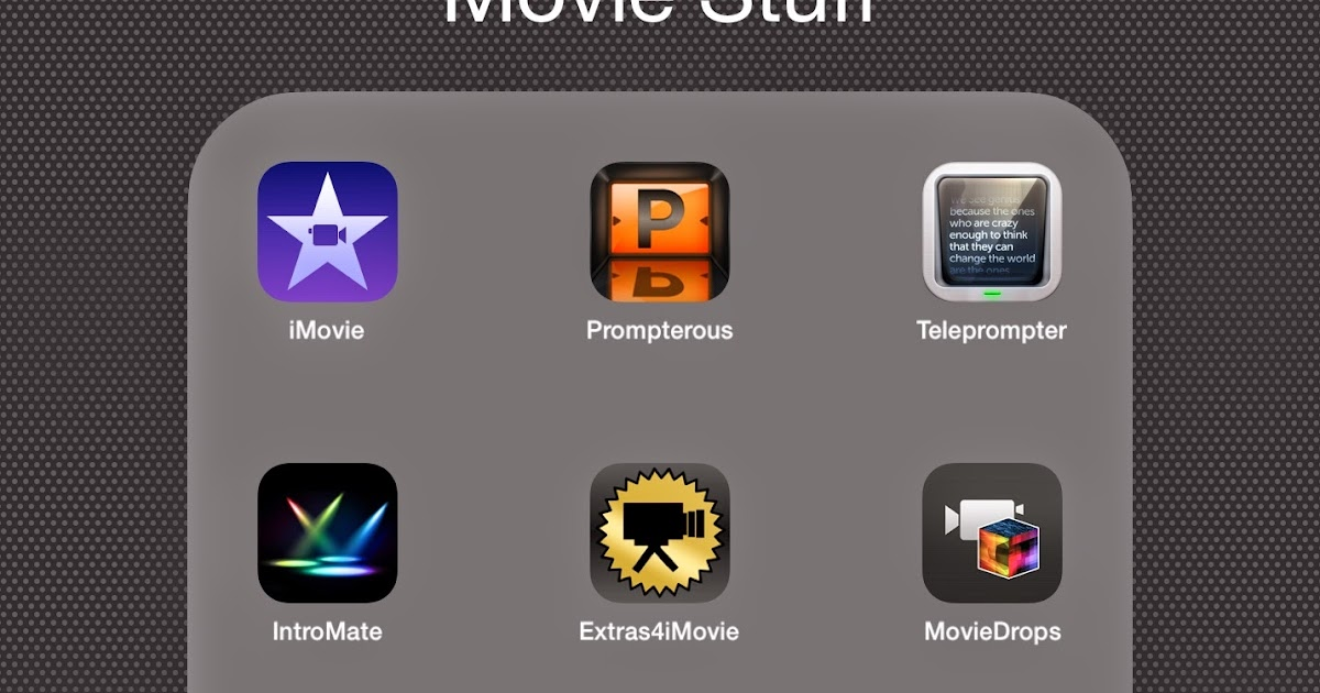 Great apps to complement your imovie app a teacher Iplan app