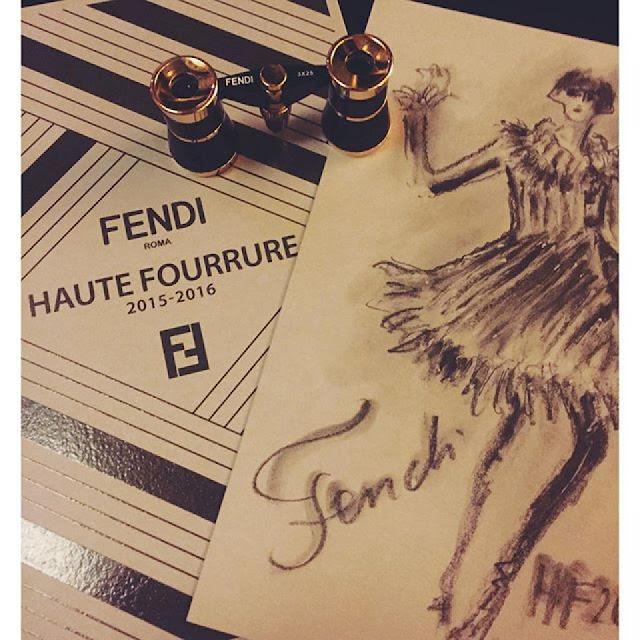 Paris Haute Couture -  Ο FENDI Η ΥΨΗΛΗ ΡΑΠΤΙΚΗ ΚΑΙ Η ΓΟΥΝΑ ΣΗΜΕΡΑ