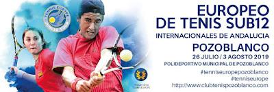 Tenis en Pozoblanco | Europeo de Tenis Sub 12 - Internacionales de Andalucía - Pozoblanco