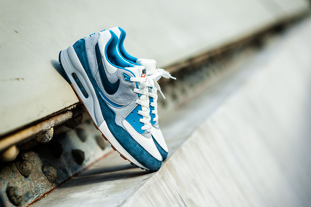 Photography of the SIZE? X Nike Air Max Light 'Easter' Blue Sneakers by Tom Cunningham