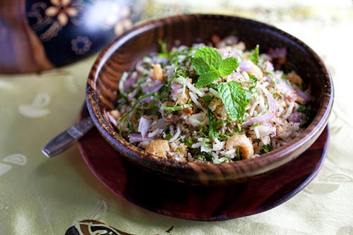 [Malaysian Recipes] Nasi Ulam (Malaysian Mixed Herb Rice ...