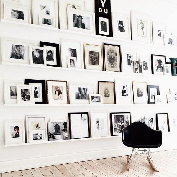 mecedora eames negra fotos blanco y negro