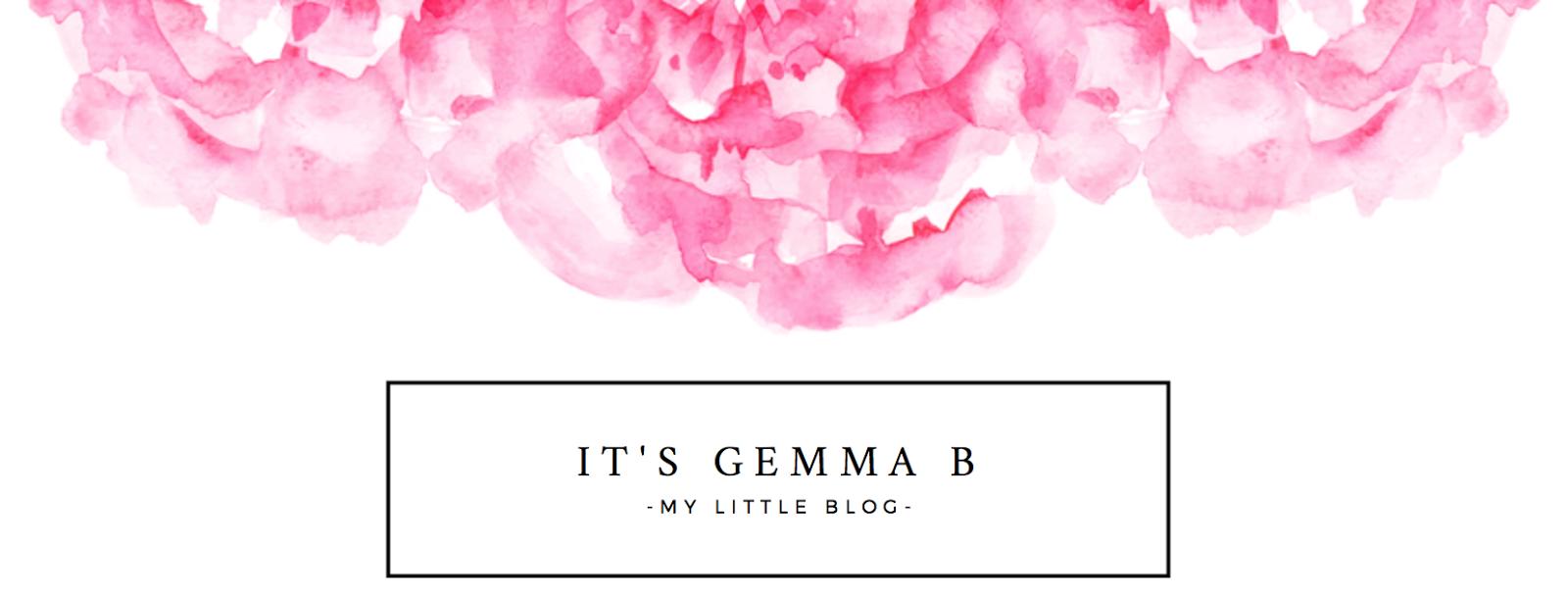 It's Gemma B