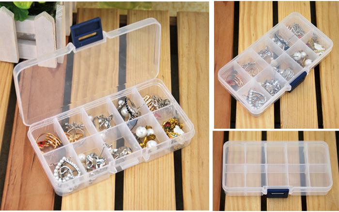 Bekas Menyimpan Barang (Plastik) - 10 Ruang