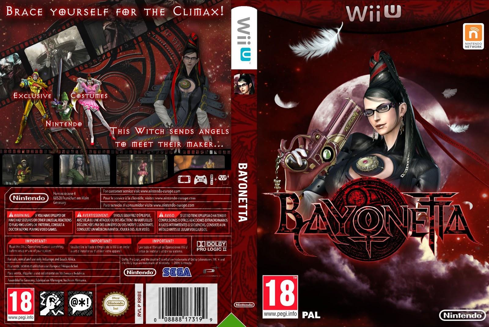 Capa Bayonetta Wii U